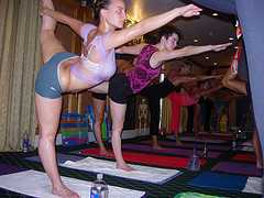 26 poses of bikram yoga and it's health  weight loss